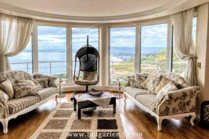 Bild perfekter Meerblick: Erstaunliche Villa mit Pool in der Nähe von Albena Strandresort