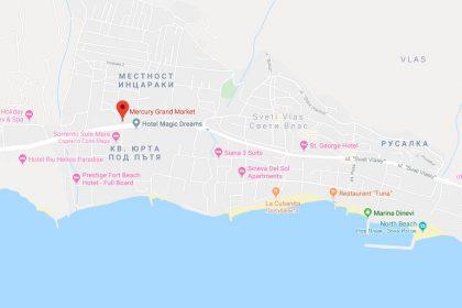65qm 3 Zimmer Wohnung, 10min zum Strand, 3km nach Sunny Beach