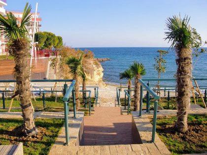 * Verkauft * Wohnung direkt am Meer, 2 Zimmer, möbliert – Lost in Paradise, Sweti Wlas