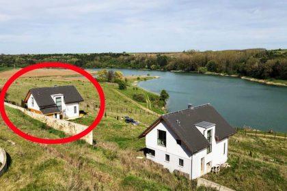 Traumhaus direkt am See, 4 Zimmer, 2 Badezimmer, möbliert, in der Nähe von Varna