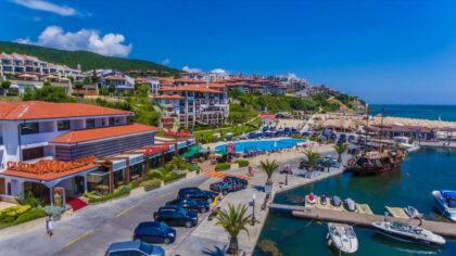 Apartment am Strand mit Meerblick in Diamond, Sweti Wlas zu verkaufen
