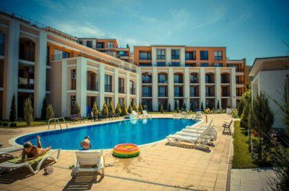 Angebot! 3-Zimmer-Wohnung mit Meerblick am Strand in Sweti Wlas