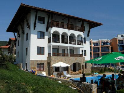 Erschwingliche 2-Zimmer-Wohnung 20m vom Strand in St. Vlas