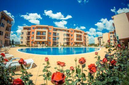 3-Zimmer-Wohnung in der Nähe des Aquaparks in Sunny Beach (Holiday Fort) zu verkaufen