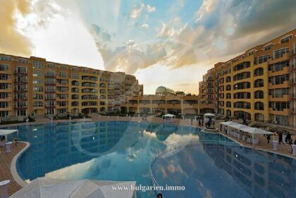 Angebot: 2-Zim-Wohnung direkt am Strand in Aheloy – Midia Grand Resort