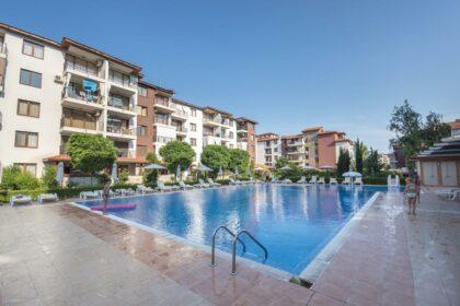 Angebot: 3-Zimmer-Wohnung am Strand in Ravda, Apollo