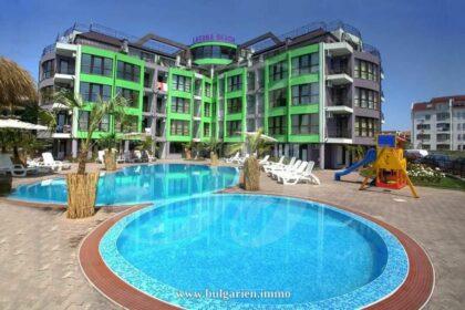Angebot: Erschwingliche Wohnung direkt am Strand in Ravda – Laguna Beach