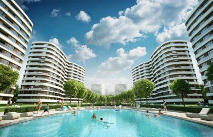 Neue Wohnung in der Stadtmitte von Varna in einem fantastischen Komplex