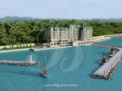 3-Zim-Wohnung direkt am Meer in Varna, Sunny Day – Port Palace