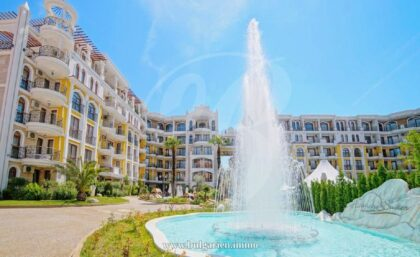 Angebot: Geräumiges Luxus-Apartment in Harmony Suites, Sunny Beach
